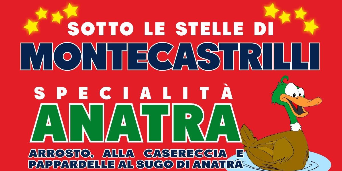 Sotto le stelle di Montecastrilli-Sagra dell'anatra
