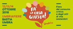 Fa' la Cosa Giusta Umbria 2018