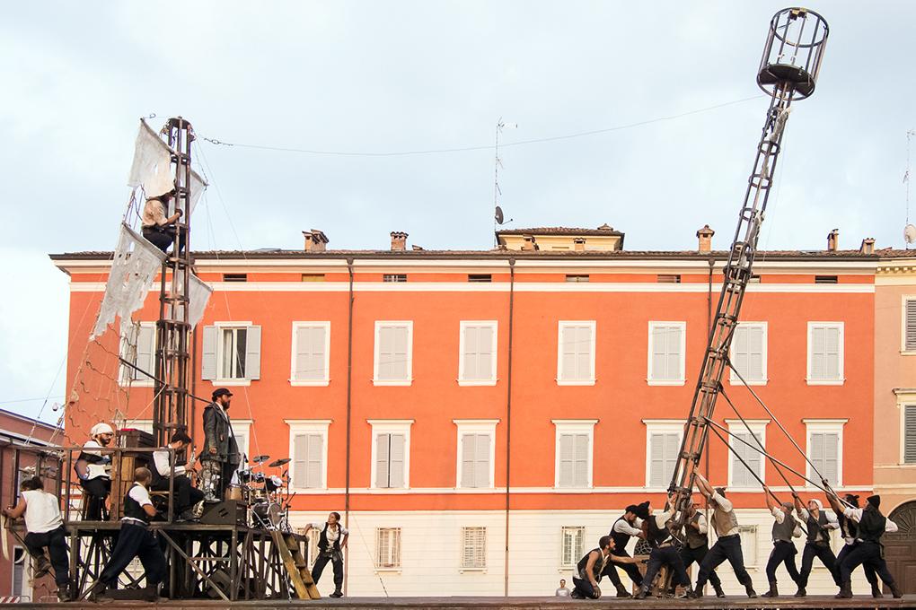 Artisti in Piazza a Pennabilli - Teatro dei Venti