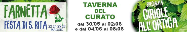 Festa di S. Rita e Taverna del Curato 2019