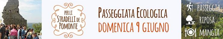 Per li Stradelli de Pomonte 2019 - Passeggiata Ecologica