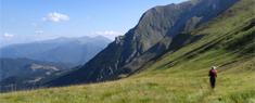 Trekking in Umbria - Sul sentiero con la guida