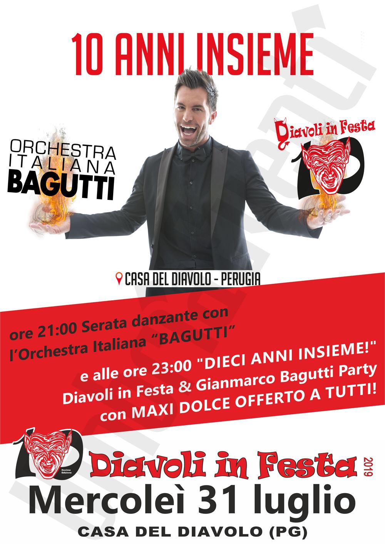 Orchestra Italiana Bagutti Calendario Serate 2019.Diavoli In Festa 2019 Casa Del Diavolo Festa Paesana