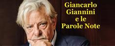 Giancarlo Giannini e le Parole Note