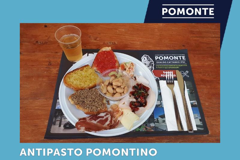 Antipasto Pomontino | Festa della Rievocazione della Cotta del Carbone Vegetale