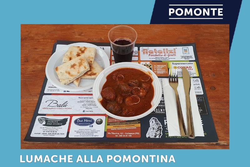 Lumache alla Pomontina | Festa della Rievocazione della Cotta del Carbone Vegetale