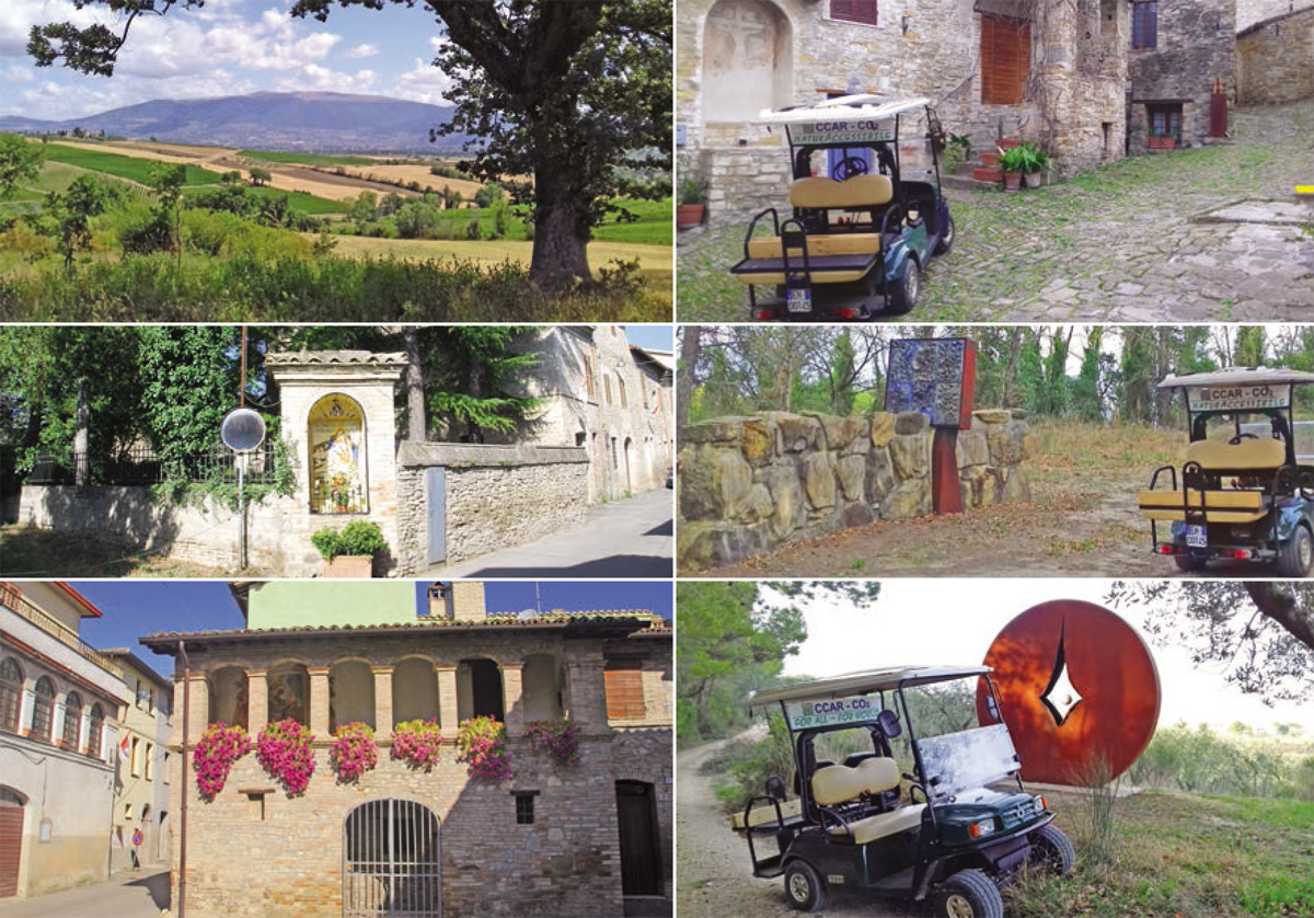 Sagra della Lumaca a Cantalupo di Bevagna - Giro Paesaggistico servizio turistico mobilità lenta ed ecologica