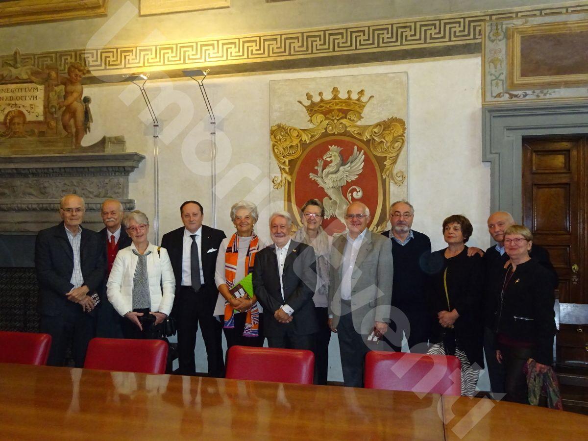 Anniversario gemellaggio filatelico con il circolo filatelico di Aix en Provence