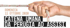 Catena Umana per la Pace Perugia - Assisi 2020