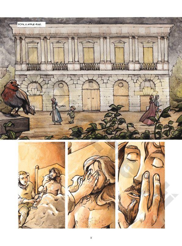 Tiferno Comics Rende Omaggio a Raffaello