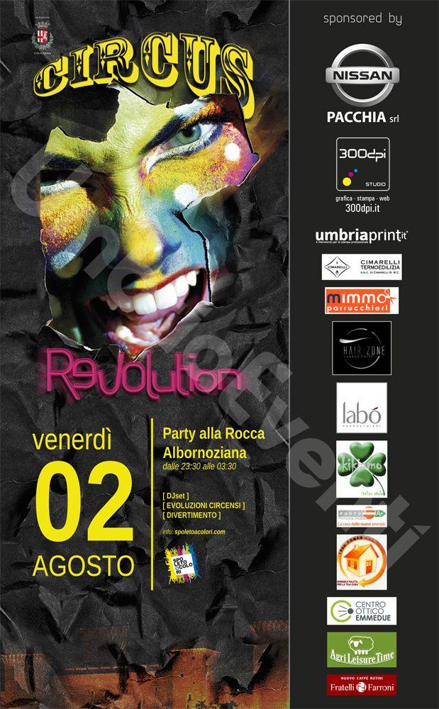 Party alla Rocca Albornoziana 2 Agosto