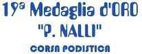 Medaglia d'Oro P. Nalli 2013