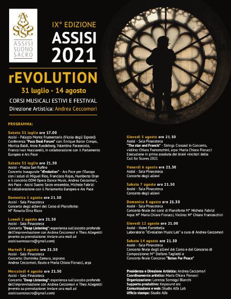 Programma Assisi Suono Sacro