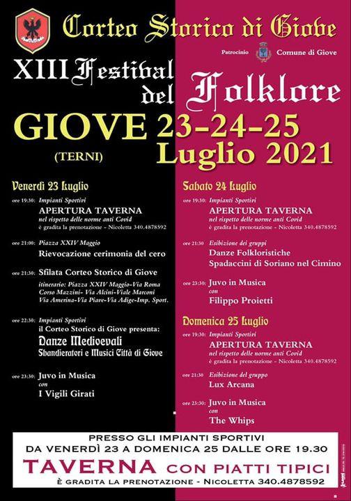 Programma Festival del Folklore