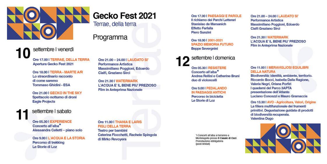 Programma Gecko Fest
