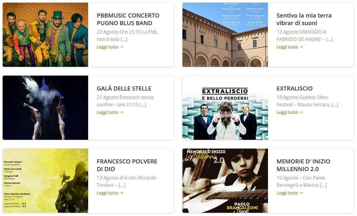Programma Gubbio Oltre Festival