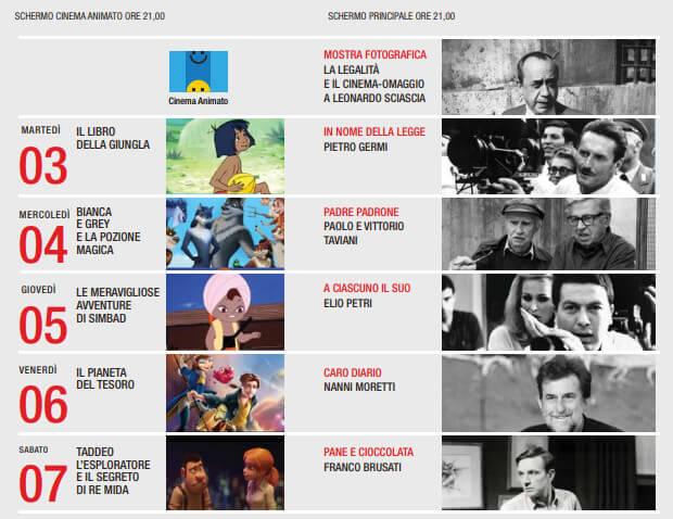 Programma Le Vie del Cinema
