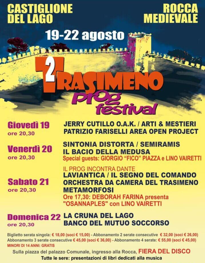 Programma Trasimeno Prog Festival