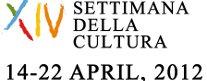 XIV Settimana della Cultura
