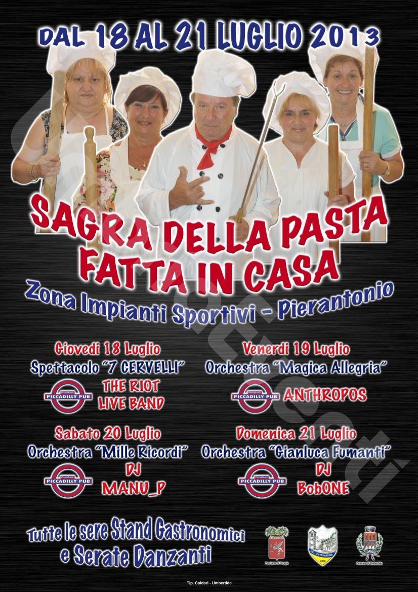 Sagra della Pasta Fatta in Casa 2013