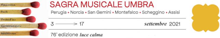 Sagra Musicale Umbra  2021