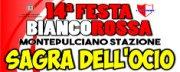 Festa BiancoRossa - Sagra dell' Ocio 2018