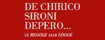 De Chirico, Sironi, Depero...Le Regole alle Rocce