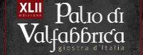 Palio di Valfabbrica - Giostra d'Italia 2016