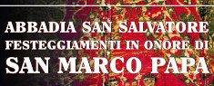 Festeggiamenti in Onore di San Marco Papa 2018