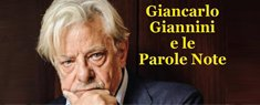 Giancarlo Giannini e le Parole Note