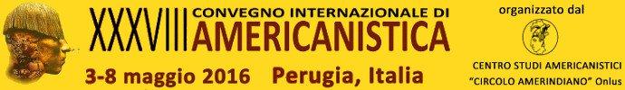 Convegno Internazionale di Americanistica 2016