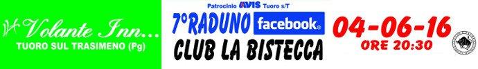 Raduno Facebook Club La Bistecca 2016