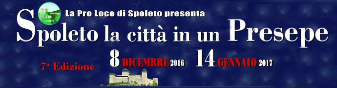 Spoleto, la Città in un Presepe 2016 - 2017