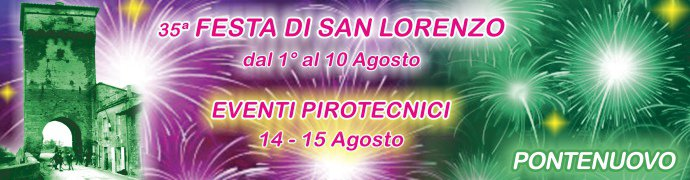 Festa di San Lorenzo - Pontenuovo