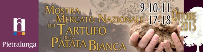 Mostra Mercato Nazionale del Tartufo e della Patata Bianca Pietralunga
