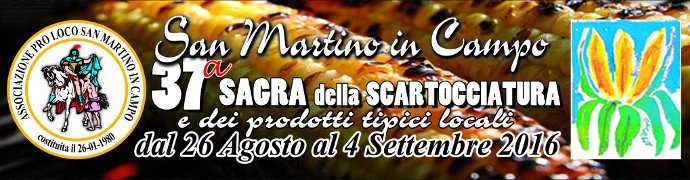Sagra della Scartocciatura 2016 a S. Martino in Campo