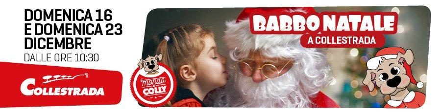 Arriva Babbo Natale al Centro Commerciale Collestrada