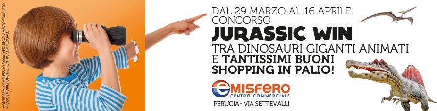 Jurassic Win al Centro Commerciale Emisfero