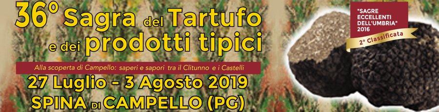 Sagra del Tartufo e dei Prodotti Tipici 2019