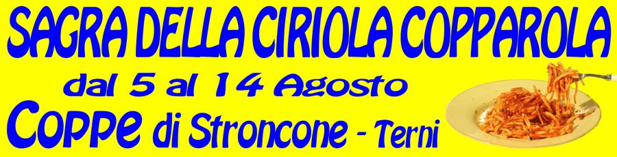 Sagra della Ciriola Copparola 2018