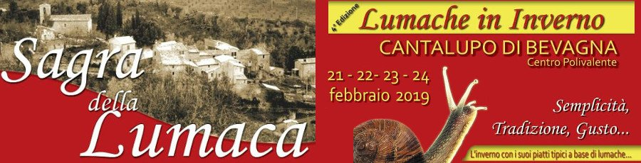 Sagra della Lumaca - Lumache in Inverno 2019