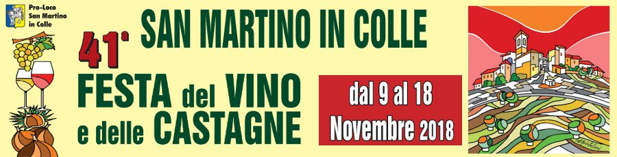 Festa del Vino e delle Castagne 2018