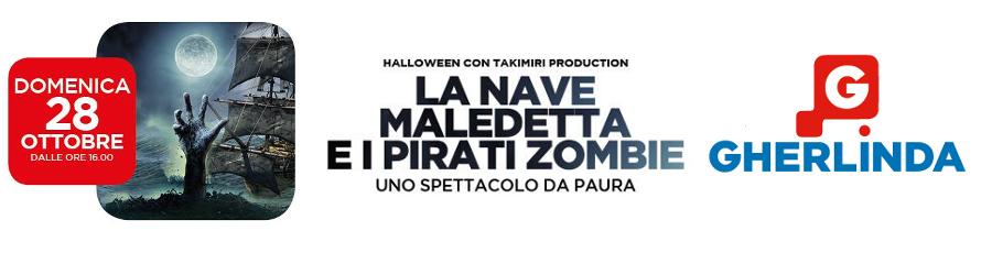 La Nave Maledetta e i Pirati Zombie